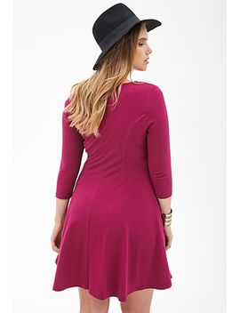 fit-&-flare-dress by forever-21