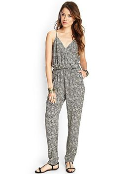 paisley-floral-surplice-jumpsuit by forever-21