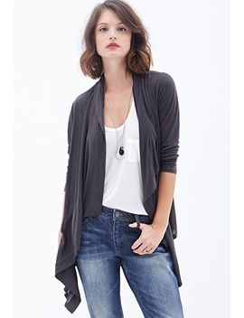 draped-open-front-cardigan by forever-21