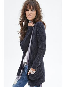 wool-blend-cardigan by forever-21