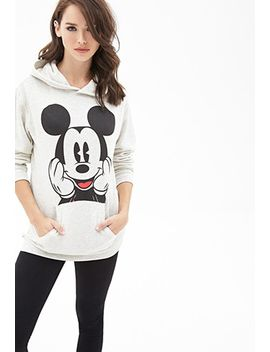 mickey-mouse-graphic-hoodie by forever-21