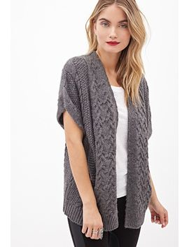 cable-knit-shrug-cardigan by forever-21