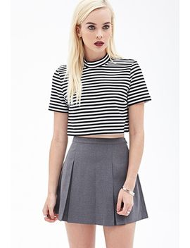 pleated-mini-skirt by forever-21