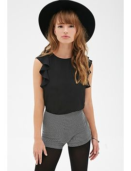 flutter-sleeve-top by forever-21