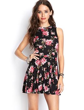 knit-cutout-rose-dress by forever-21