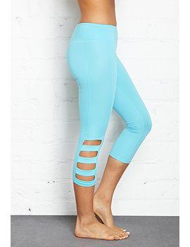 cutout-active-capri-leggings by forever-21