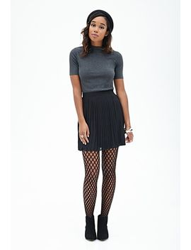 accordion-pleated-skirt by forever-21