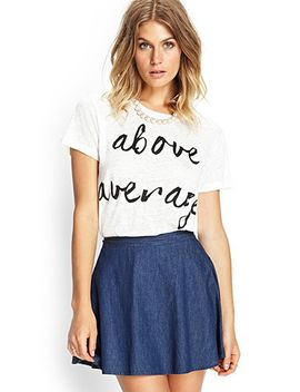 above-average-linen-tee by forever-21