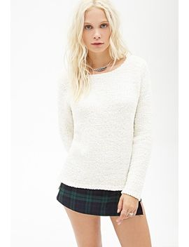 faux-shearling-sweater by forever-21