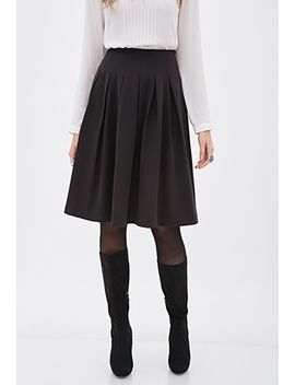 knee-length-pleated-skirt by forever-21