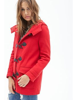 hooded-toggle-coat by forever-21