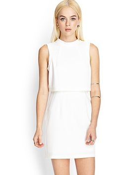 layered-sheath-dress by forever-21