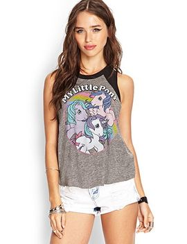 my-little-pony-muscle-tee by forever-21