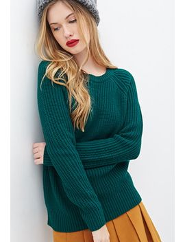 classic-raglan-pullover-sweater by forever-21