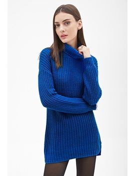 longline-turtleneck-sweater by forever-21