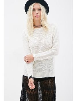abstract-pattern-knit-sweater by forever-21