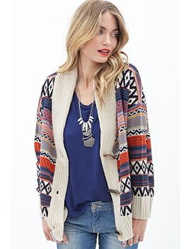 tribal-inspired-toggle-cardigan by forever-21