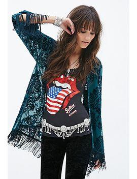 velveteen-damask-pattern-kimono by forever-21