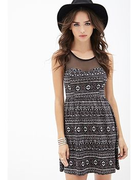 western-inspired-fit-&-flare-dress by forever-21