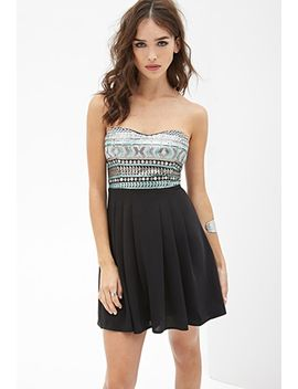 sequined-combo-dress by forever-21
