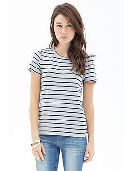 nautical-striped-jersey-tee by forever-21