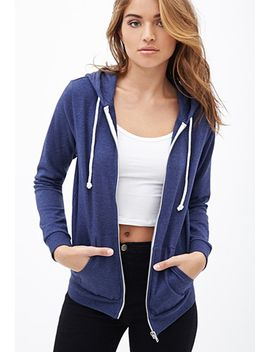 heathered-zip-up-hoodie by forever-21