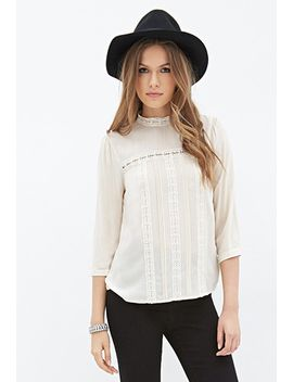 crocheted-peasant-blouse by forever-21