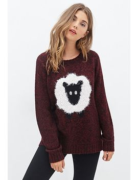 shaggy-sheep-sweater by forever-21