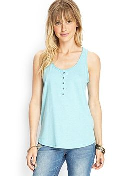 lace-back-henley-tank by forever-21