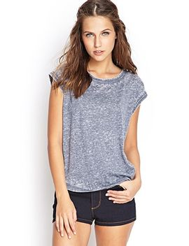 soft-knit-burnout-tee by forever-21