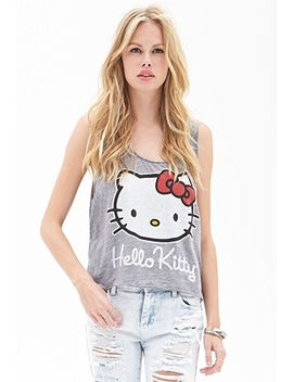 hello-kitty-muscle-tee by forever-21