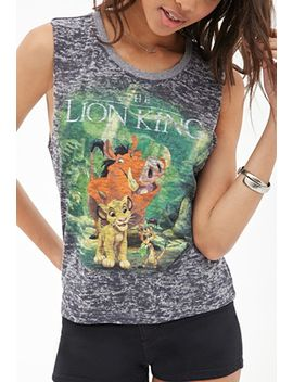 lion-king-burnout-tank by forever-21