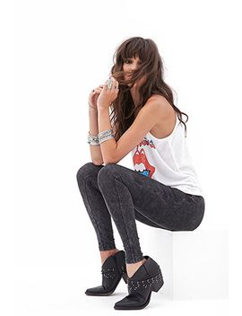 mineral-wash-leggings by forever-21