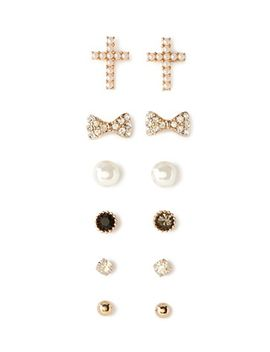 faux-pearl-stud-set by forever-21