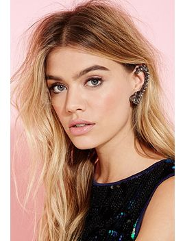 faux-gem-ear-cuff by forever-21