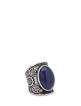 faux-stone-cocktail-ring by forever-21