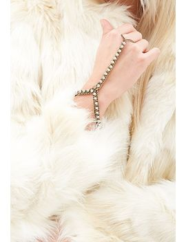 rhinestone-hand-chain by forever-21