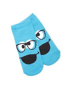 cookie-monster-reader-socks by forever-21