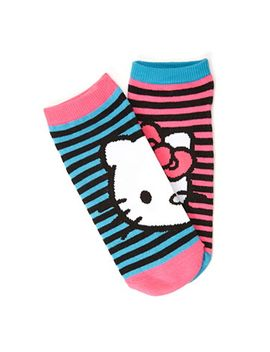 hello-kitty-striped-socks by forever-21