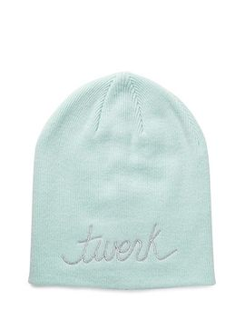 metallic-twerk-beanie by forever-21