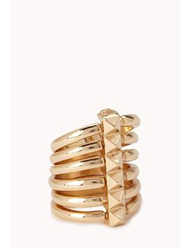 studded-bar-multi-ring by forever-21