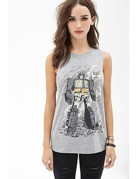 transformers-muscle-tee by forever-21