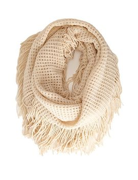waffle-knit-infinity-scarf by forever-21