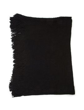 ribbed-knit-fringed-poncho by forever-21