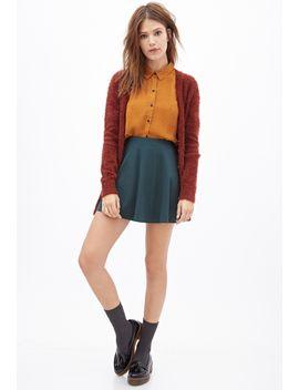 blouse-en-crêpe-à-pois by forever-21