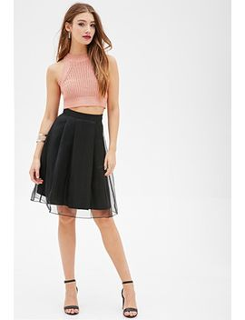pleated-organza-skirt by forever-21