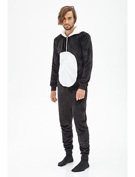 plush-panda-jumpsuit by forever-21