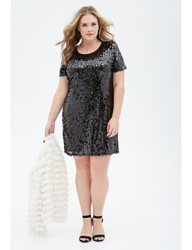 sequined-shift-dress by forever-21