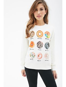 donut-days-sweatshirt by forever-21