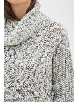 marled-turtleneck-sweater by forever-21